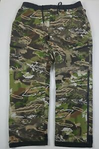 Under Armour Stealth Reaper Extreme Barren Forest Camo Hunting Pants Men 1299283