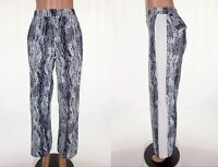 LULULEMON 10 City Summer Pant Texture Twist Black White RARE
