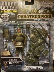 ELITE FORCE U.S. PARATROOPERS ELITE FORCE CLEARY CAPT 1/18