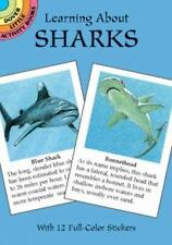 Dover Little Activity Books:Learning about Sharks by Jan Sovak (1999, Paperback)