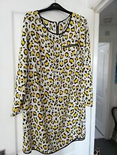 Yellow Leopard print Dress 16 By Defenitions @ Very