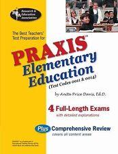 PRAXIS Teacher Certification Test Prep Ser.: Praxis Elementary Education (Test …