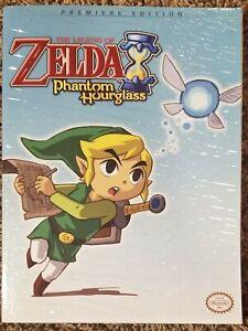 LEGEND OF ZELDA Phantom Hourglass Official Premiere Edition Nintendo DS w/Map
