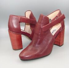 """CRUMBLE SUGAR""Clark's Women/Ladies WINE INTEREST Leather Shoes size 5 D."