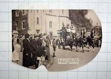 1936 Start Of Coaching Marathon From Windsor Castle To Braywood Horse Show
