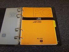 John Deere 380 Forklift Lift Truck Factory Original Parts Catalog Manual PC1435