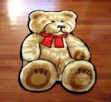 FAUX FUR TEDDY BEAR PLAYMAT PLAY MAT RUG 3X5 NEW