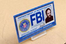 Supernatural prop costume cosplay - Crowley FBI ID Card