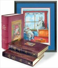 The Complete Far Side Leather-Bound Set Signed Limited Edition lithograph print