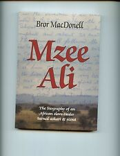 MZEE ALI - Biography of an German African  Askari WW 1  East Africa, sb, VG