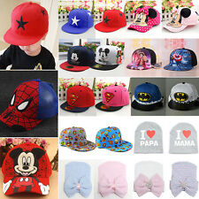 Casual Baby Kids Girls Boys Lovely Sun Hat Hip Hop Snapbacks Sports Baseball Cap