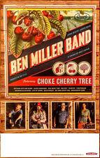 BEN MILLER BAND Choke Cherry Tree 2018 Ltd Ed RARE Poster +FREE Folk Rock Poster
