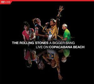 THE ROLLING STONES A Bigger Bang: Live On Copacabana Beach  2 CD+DVD NEU & OVP