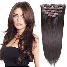"""Extensiones de cabello para mujeres natural pelo peluca curly wave clip 20"""" inch"""