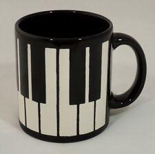Waechtersbach W. Germany Black & White Piano Keys Coffee Tea Cup Mug Excellent
