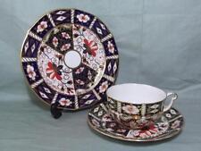 Royal Crown Derby Trio Tea Cup Saucer & Side Plate Imari Pattern 2451 (Lot 2)