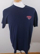 VINTAGE 90s TOMMY HILFIGER jeans t shirt spell out mens M red flag tag