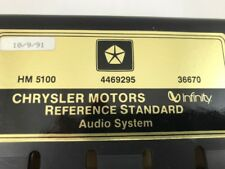 1992 Chrysler Imperial NEW HM 5100 Infinity RD Amp 4469295 with Bracket