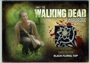 The Walking Dead Season 2 Wardrobe Card M13 Carol Peletier Black Floral Top