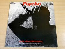 EX/EX- !! Bernard Herrmann/Psycho/1975 Unicorn Soundtrack LP