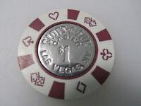 $1 SLOTS A FUN Casino Las Vegas NV Nevada + FREE Mystery Poker Chip Slots-A-Fun