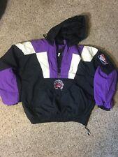 Vintage Toronto Raptors NBA Starter Star Insulated Jacket Size Large