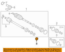TOYOTA OEM Drive Axles-Front-Axle Seal Right 90311A0029