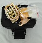 Top Brand new Rose brass Bb Pocket Trumpet horn 4.8
