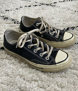 Converse Chuck Taylor All Star 70 Low Top - Black - Size 3.5