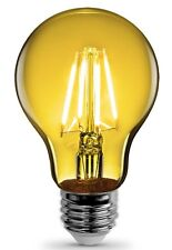 FEIT Electric A19/TY/LED A-Line Filament LED Bulb, 3.6 Watts, 120 Volts, Yellow