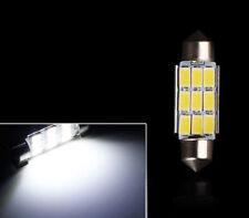 """2pack - Xenon White 42mm 1.65"""" Festoon Interior 5630 9SMD 578 211-2 212-2 Bulb"""