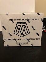 2019-20 Panini Mosaic Basketball Cello Box 12 Sealed Packs Pink Camo Prizm
