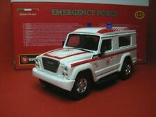 1/43 IVECO Massif 4x4 2008 Croce Rossa Italiana Brescia Ambulance Burago
