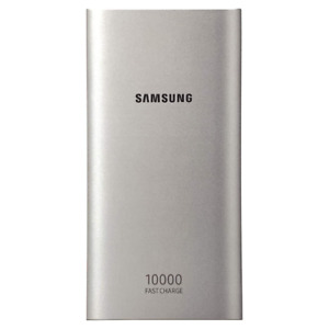 SAMSUNG TYPE-C DUAL PORT POWERBANK WITH FAST CHARGING | 10,000MAH - SILVER