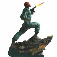 Bowen Designs Red Skull Action Full Size Statue Factory Sealed
