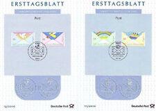 BRD 2010: Post! Ersttagsblätter der Nr 2786+2787+2790+2791! Bonner Stempel! 1512