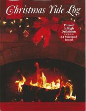 A VERY MERRY CHRISTMAS FIREPLACE YULE LOG MUSIC HOLIDAY FESTIVE MOVIE DVD - NEW