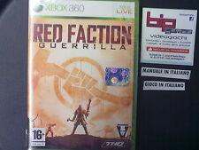 RED FACTION GUERRILLA XBOX360 PAL ITA NUOVO SIGILLATO