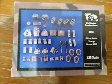 New Verlinden Productions 1:35 Military Vehicle Stowage German WWII 1550