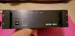 Vintage Adcom GFA-2 amp