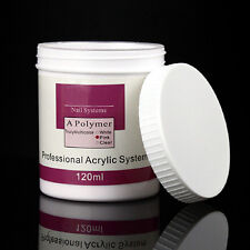 120ml Acrylic Crystal Nail Powder Builder Manicure Nail Art Tips Polymer