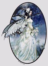 MIST BRIDE FAIRY IN WEDDING DRESS WICCA FAe STICKER/VINYL DECAL Nene Thomas
