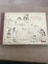 PICTURES FROM THE POETS , By T. PYM.  -  c1880's - Acceptable Condition