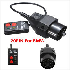 Oil Reset Tool 20Pin OBD Car Airbag (SRS) Scanner For BMW E36 E34 E39 E38 3 5 7