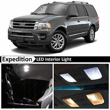 16x White Interior LED Lights Package Kit for 2015-2017 Ford Expedition