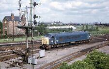 More details for original slide br sulzer class 44 peak diesel 44002 'helvelyn'  march cambs 1974