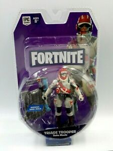 Figurines Fortnite Toy Toys Sort Trooper Solo Fashion 3 7/8in New Epic Game