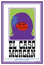 Movie Poster for british film El caso Morgan.Home room art decoration.Decor.