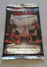 TNA wrestling CARDS 2008 unopened packet VERY RARE TRISTAR WWE WWF WCW