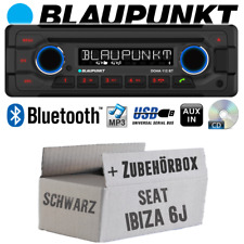 Blaupunkt Radio Pour Seat Ibiza 6j NOIR AUTORADIO BLUETOOTH CD mp3 USB DAB voitures